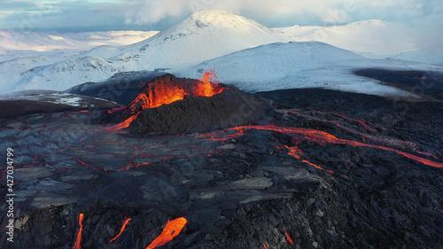 Valokuva Iceland Volcanic eruption 2021