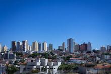Vista Parcial Da Cidade De Uberlândia, Estado De Minas Gerias, Brasil