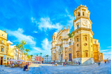 The old Cadiz, Spain