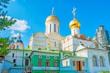 Churches And Chapels Of St Sergius Lavra, Sergiyev Posad, Russia.