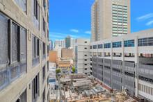 Miami Downtown Construction Site