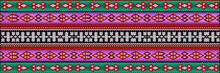 Traditional Ethnic Ornament For Use On Fabrics, Tiles, Ceramics And Other Interior Details.