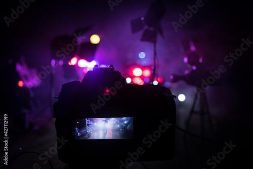 Action movie concept Fototapete
