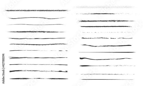 Fotografía Set of artistic pen brushes