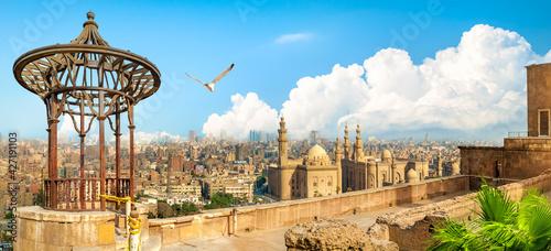 Obraz na płótnie Cairo observation deck