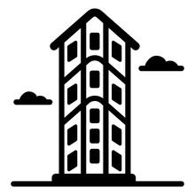 Download Premium Solid Icon Of The Flatiron Building