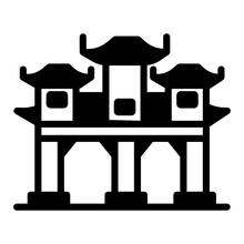 Binondo Beautifully Design Solid Icon Is Premium