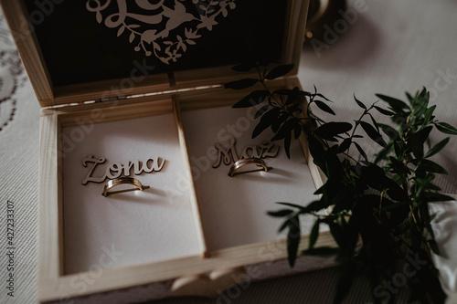 Obrączki, ślub, wesele