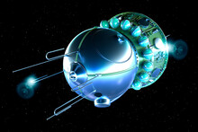 The Vostok Spacecraft, Was A Type Of Spacecraft Built By The Soviet Union. The First Human Spaceflight Was Accomplished With Vostok 1 On April 12, 1961, By Soviet Cosmonaut Yuri Gagarin