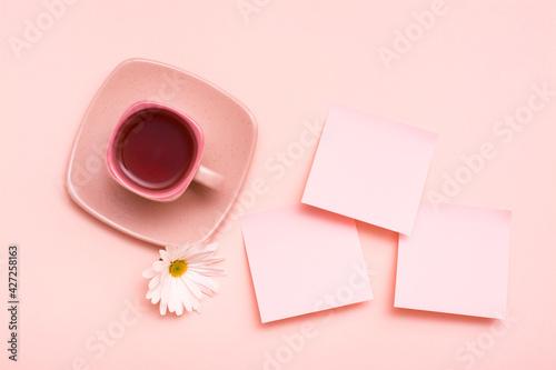 Billede på lærred The concept is pink