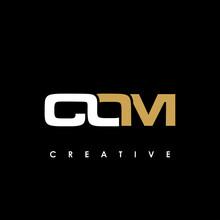 COM Letter Initial Logo Design Template Vector Illustration