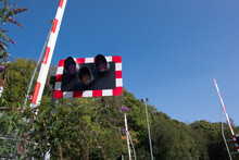 Railway Level Crossing And Barrier