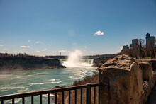 Niagara Falls Canada, Panoramic Style Photograph