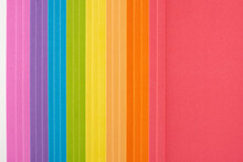 Composición Multicolor En Papel