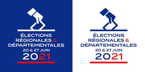 Élections régionales et départementales 20 et 27 juin 2021 (France)
