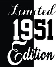 Limited Edition 1951