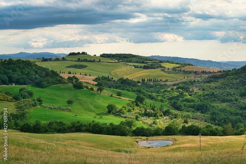 Fototapeta premium Val d'Orcia, Siena, Tuscany, Italy