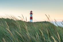 Lighthouse List Ost, Sylt, Schleswig-Holstein, Germany