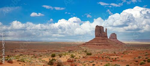 Obraz na plátně Landscape of Monument valley