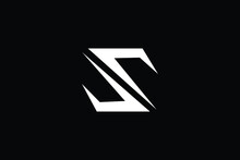 Letter SU S Logo Alphabet Design Icon Vector Symbol