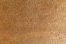 Brown Genuine Cow Leather Of The Sofa Texture And Background Seamless