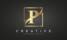 P Creative Luxury Logo Design