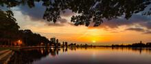 Sunrise Over The Swan River