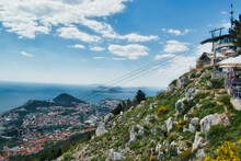 The View Of The City Of Dubrovnik, Croatia