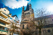 Leinwandbild Motiv Antique building view in Cologne city, Germany.