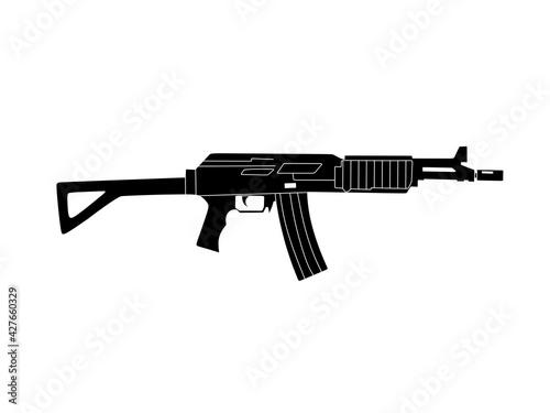 Fotografering assault rifle