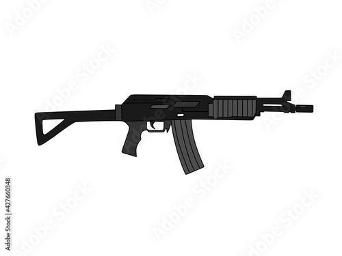assault rifle Fototapet
