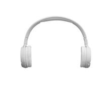 Single White Bluetooth Wireless Headphones
