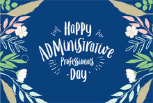 Administrative Professionals Day, Happy, Card