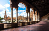 Spain Square. Sevilla Spain.