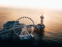 Ferris Wheel At Sea