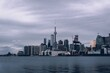 View Of Toronto Against Cloudy Sky
