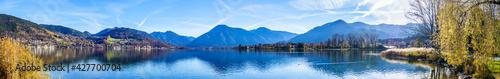 Fotografia famous Tegernsee lake in Bavaria