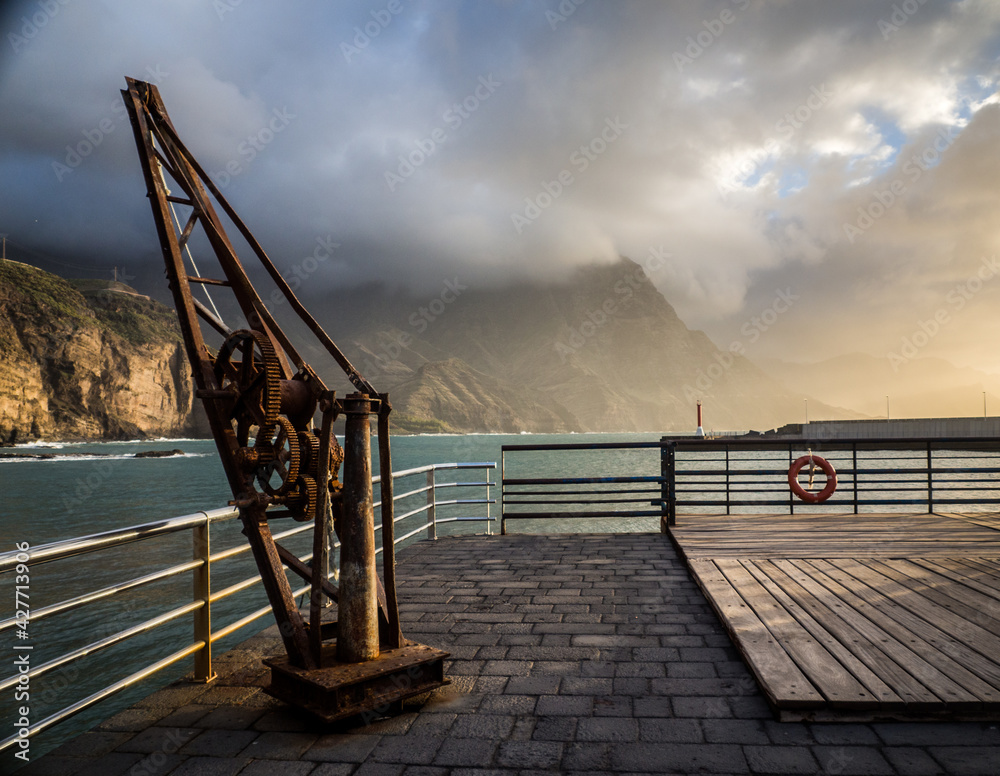 Fototapeta port, Gran Canaria