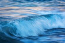 Long Exposure Of Sea Wave