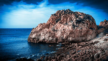 Pictures Sea Coast And Rocks In Tanger Marooco