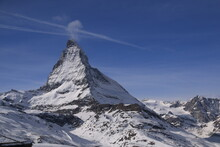 Matterhorn- Scenic View Of Snowcapped Mountains Against Sky