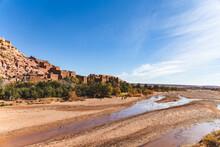 Ksar Of Ait-ben-haddou And Ouarzazate River Valley