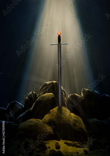 Photo Sword in the stone