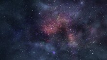 The Clouds Of Nebulae That Decorate The Star-filled Universe