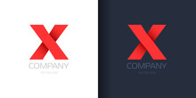 Letter X Logo Template Vector Illustration