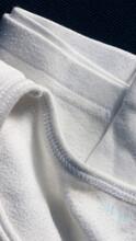 Camiseta Interior De Algodón Blanca Usada Doblada