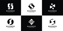 S Letter Logo Collection Initial S Logo Inspiration With Creative Concept