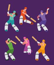 Sport Players Cricket