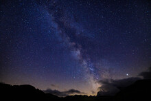 Via Lattea Da Saltria, Alpe Di Siusi