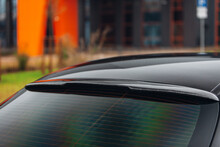 Forged Carbon Car Rear Window Spoiler, Sunblind